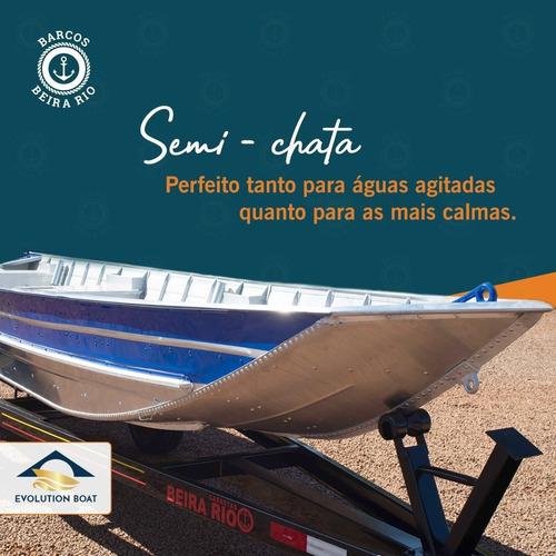 Botes De Aluminio Beira Rio Tucunare 600 Semichato