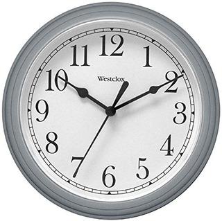 Nyl Holdinswestclox 46984 Simplicidad 8 Pulgadas Reloj De Pa