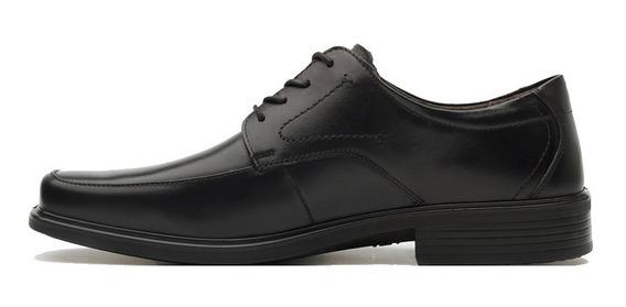 Zapatos Hombre Piel Estilo Oxford Casual Comodo 96301 Flexi