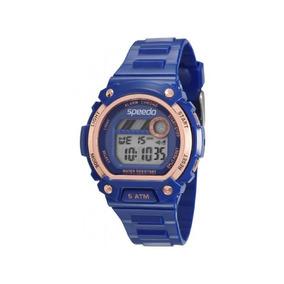 Relógio Speedo Feminino Azul/rosê 81133l0evnp2