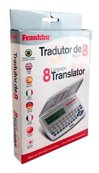 Kit 5 Tradutor Franklin Tg115 Inglês
