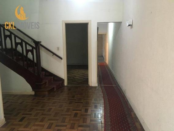 Casa Comercial Para Locação 230 M² Por R$ 5.500/mês - Vila Mariana - São Paulo/sp - Ca0059