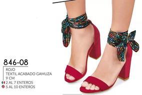 Oferta Zapatilla Dama Cklass 846-08 Gamuza Pv-19 9cm