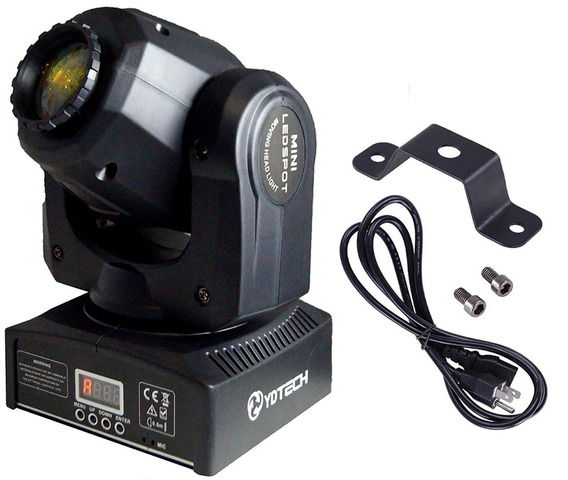 Canhão Led Moving Beam Head 30w Rgbw Cree Dj Festas Eventos