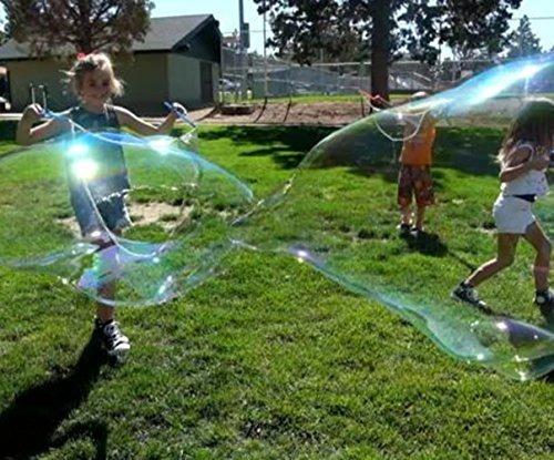 4 Bubble Wands Para Hacer Grandes Burbujas Para Niños. Gran