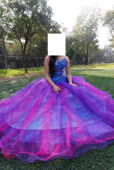 Vestido De 15 Años Del Diseñador M. A.