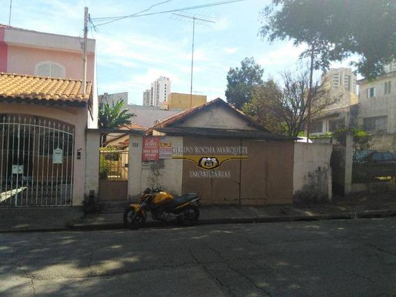 Terreno À Venda, 500 M² Por R$ 850.000,00 - Vila Formosa - São Paulo/sp - Te0056