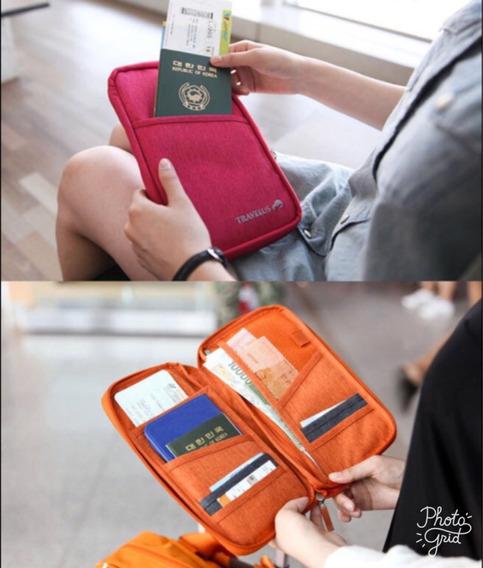 Organizador De Viaje Porta Pasaporte Regalos Originales