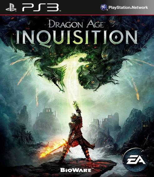 Dragon Age Inquisition Ps3 Original Envio Imediato Psn!