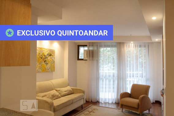 Apartamento No 2º Andar Mobiliado Com 1 Dormitório E 1 Garagem - Id: 892958928 - 258928