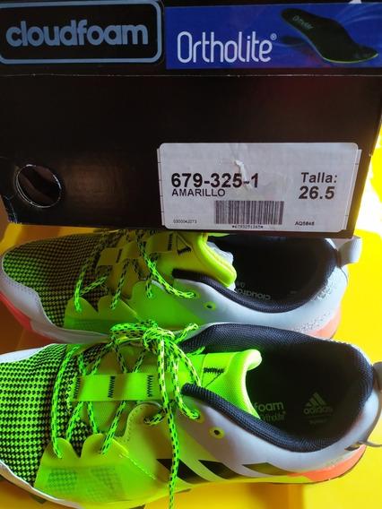 Tenis adidas Amarillo Mod. Aq5846