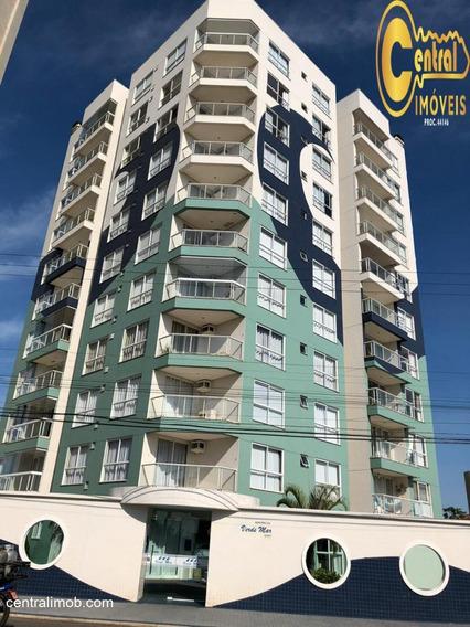 Apartamento Com 3 Dormitório(s) Localizado(a) No Bairro Centro Em Balneário Piçarras / Balneário Piçarras - 575