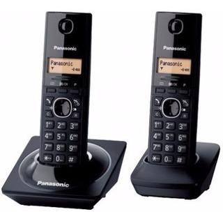 Teléfono Inalámbrico Panasonic Kx-tg1712meb, Escritorio, Neg