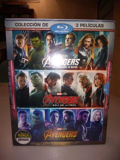 Coleccion Avengers (1-3 Box Set) Blue Ray