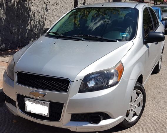 Chevrolet Aveo 2014 Básico Único Dueño, Todo Pagado, A/ac