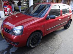 Renault Clio Campus 1.200 Cc Rojo Fuego