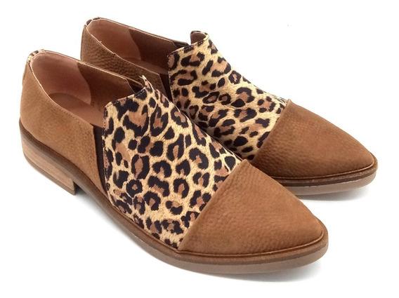 Chata Elastico Moda Mujer Calzado Zapato Cuero 120/mk