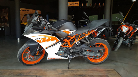 Ktm Rc 200 Gs Motorcycle 0km