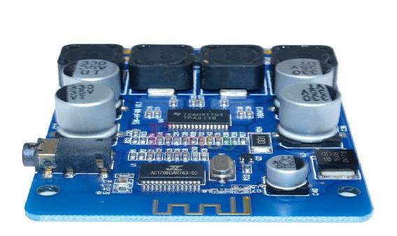 Placa Amplificador 2.0 30 + 30 60w Bluetooth 4.0 Integrado