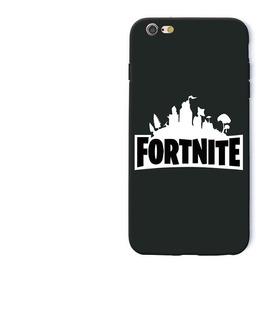 Fortnite Logo Capa Celular iPhone X Silicone Tpu