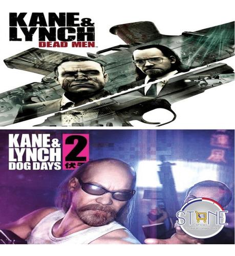 Kane & Lynch Dead Men + Kane & Lynch 2 Dog Days Ps3