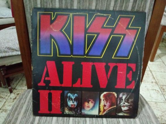 Lp/vinil- Kiss Alive Ii - Capa Dupla/disco Duplo - 1983