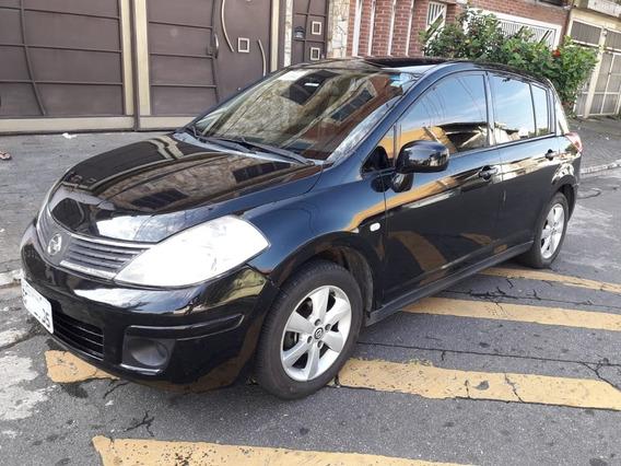 Nissan Tiida Completo Doc Ok Recuperado De Sinistro Leilao