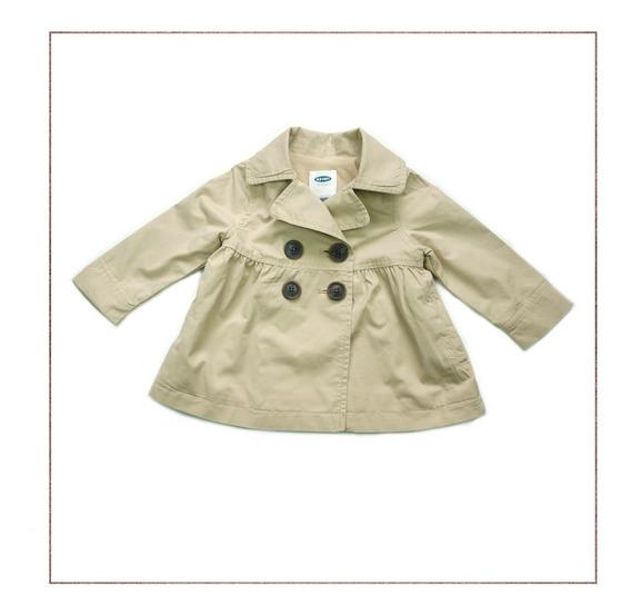 Casaco Old Navy Infantil Trench Coat