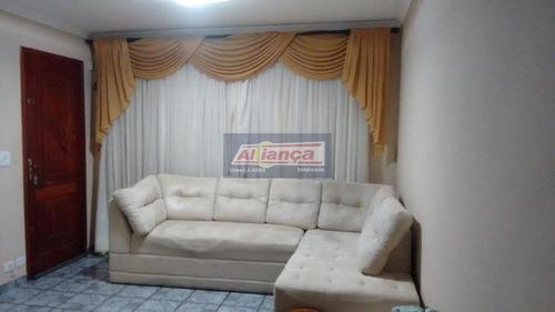 Sobrado Com 3 Dormitórios À Venda, 158 M² - Jardim Nova Guarulhos - Guarulhos/sp - Ai1636