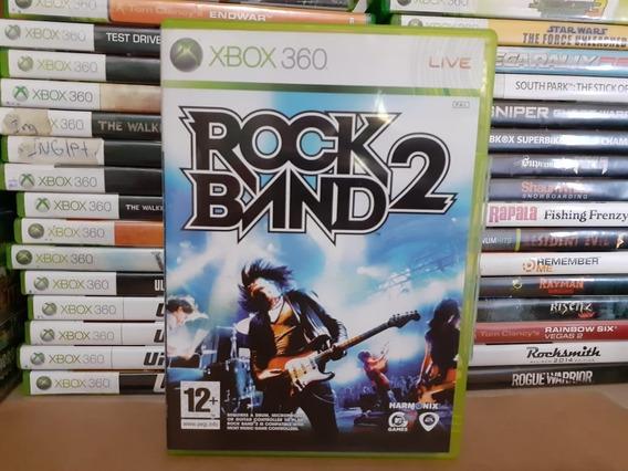 Jogo Rock Band 2 Xbox 360 Original Mídia Física Sistema Pal