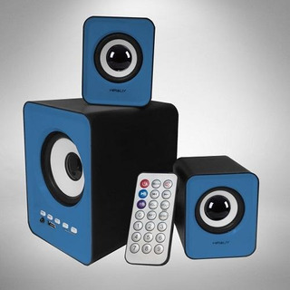 Parlantes Laptop Computador Subwoofer Radio Fm Bluetooth Usb