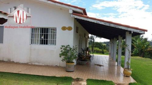 Chácara Com 03 Dormitórios À Venda, 1000 M² Por R$ 350.000 - Zona Rural - Pinhalzinho/sp - Ch0179