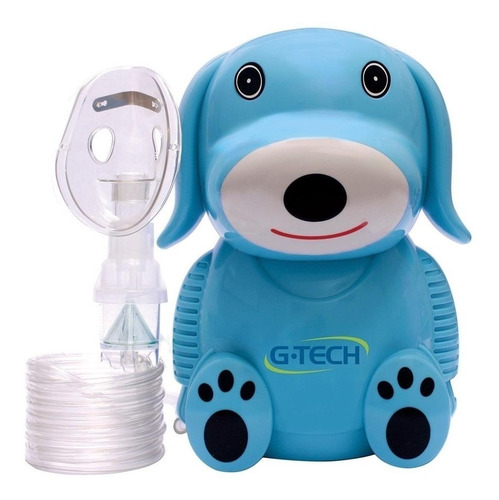 Nebulizador compressor G-Tech Nebdog azul 127V/230V