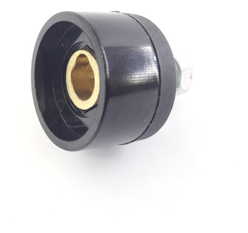 Acople Conector Hembra Chasis 16/25 Circular Soldadura