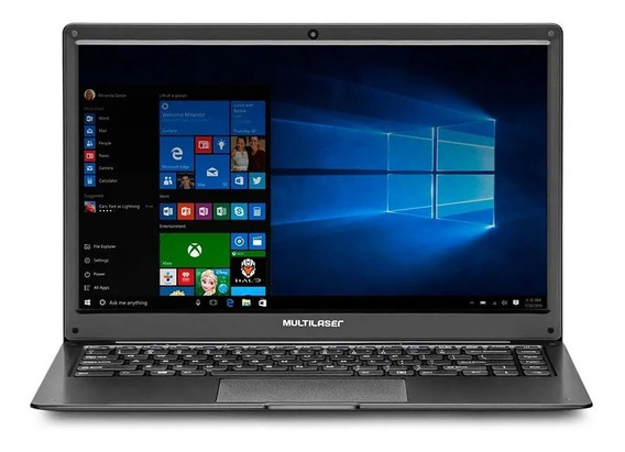 Notebook Amd A4 2gb 32 Gb 14 Polegadas Win 10 Hdmi Fino Leve