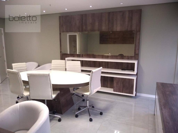 Boletto Imóveis Aluga Sala Comercial, Mobiliada E Climatizada, Com 37 M², Portaria 24hs, 1 Vaga Coberta, Petrópolis - Porto Alegre/rs - Sa0052