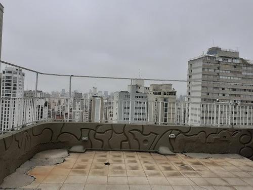 Imagem 1 de 30 de Cobertura À Venda, 431 M² Por R$ 4.500.000,00 - Higienópolis - São Paulo/sp - Co0992
