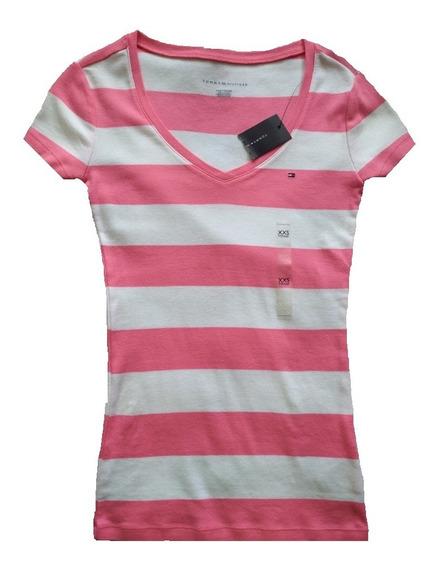Camisa/franela Dama Tommy Hilfiger Original