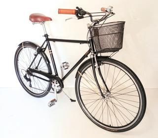 Bicicleta Paseo Urbana Vintage Retro R28 Hombre 6v Shimano