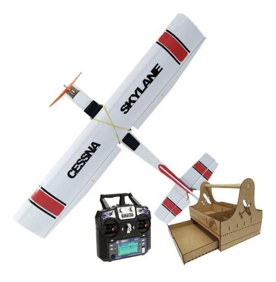 Aeromodelo Cessna Eletrico Completo Controle 6 Canais, Kit 5