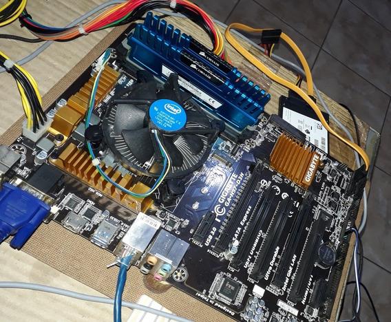 Kit I7-4790 + Ga-h97-d3h + 16gb Corsair + Windows 10 Pro!