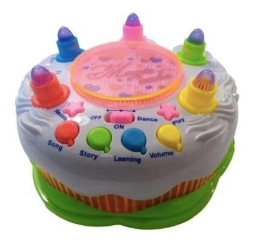 Torta Magica De Cumpleaños Musical Infantil Niño Niña A Pila