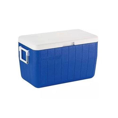 Caixa Termica Coleman 48qt / 45,4l  - Azul