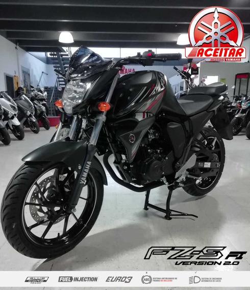 Yamaha Fz-s 2.0 Negro Mate