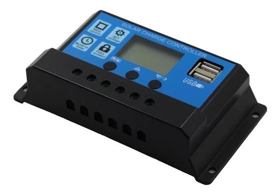 Controlador De Carga Energia Placa Solar 30 Amper Usb
