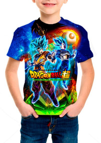 Camiseta Infantil Dragon Ball Super Broly M02