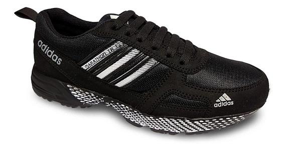Zapato Deportivo adidas Marathon Caballero Botas Gomas