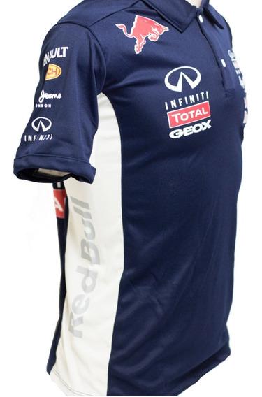 Camisa Da Red Bull Polo Preta Promoçao