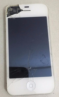 iPhone 4s Branco Para Retirada De Peças