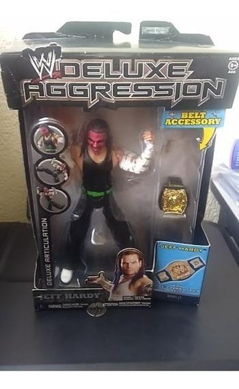 2009 Jakks Wwe Deluxe Aggresion S21 Jeff Hardy 18 Cms